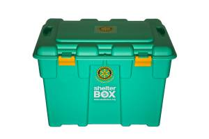 ShelterBox and Rotary sign Rotary Partnership